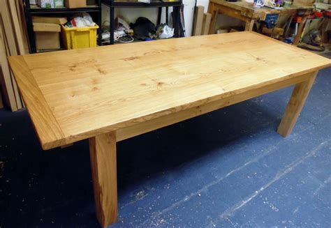 Handmade Kitchen Tables - handmade oak dining table 6 1024x707 quercus furniture