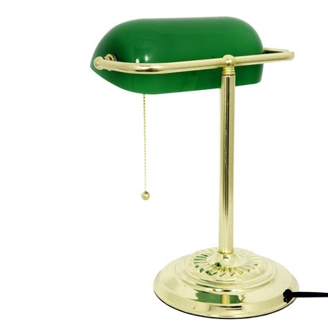 metal desk l shade large c brass desk table bankers l lights and ls