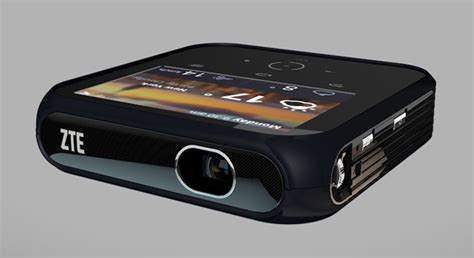 Zte Projector Hotspot zte s android powered projector hotspot dishes out 1080p and us lte