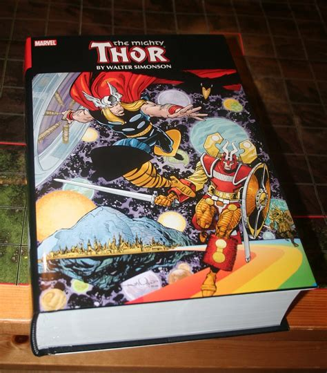 the mighty thor omnibus marvel comics of the 1980s simonson s thor omnibus finally in my hands