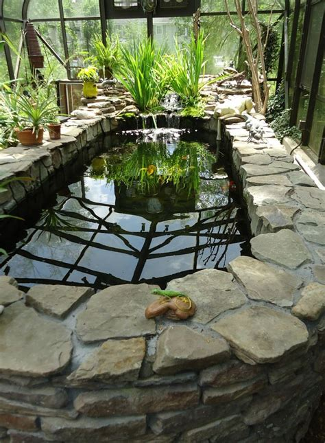 Indoor Pond by Maybe An Indoor Pond And A Greenhouse For The Northern