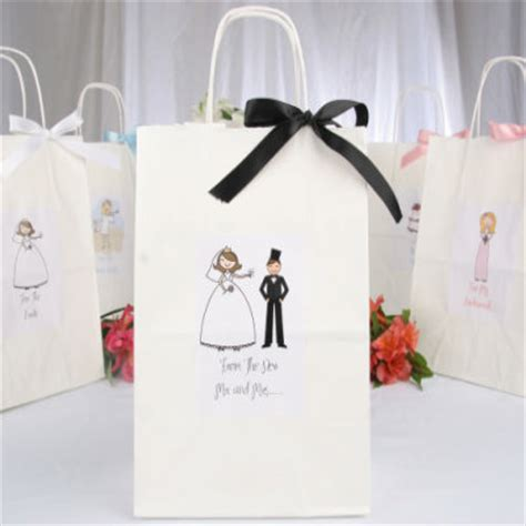 wedding gift bags wedding kit wedding bag