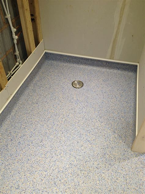 shower floor options safety flooring for bathrooms wood floors