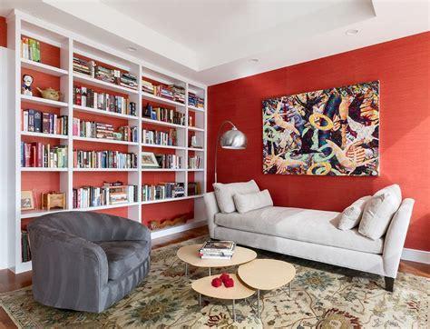 imagenes paredes minimalistas parede vermelha 60 projetos e fotos incr 237 veis