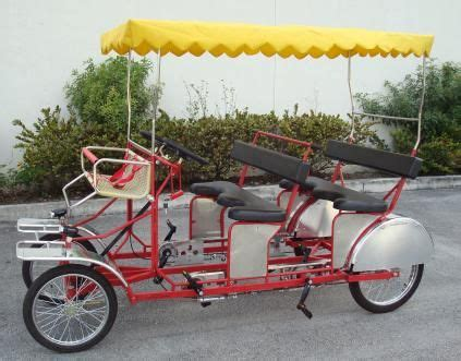 10 Person Bike For Sale - caribbean riders surrey bike 4 seater health bike
