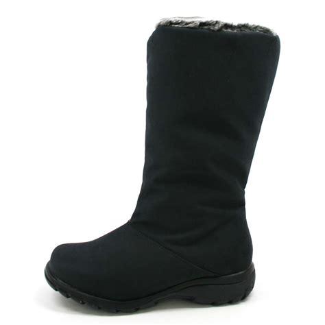 toe warmers womens janet faux fur boots black