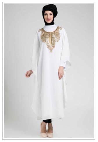 Gamis Kaftan Arab contoh foto baju muslim modern terbaru 2016 koleksi model baju muslim kaftan terbaru 2016 untuk