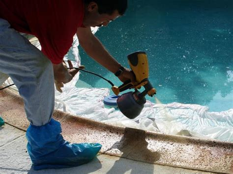 How to Resurface a Pool Patio   how tos   DIY
