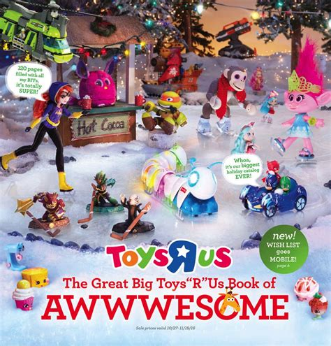 How Long Are Toys R Us Gift Cards Valid For - toys r us toy book black friday 2016 ad leaked free 10 gift card pages of