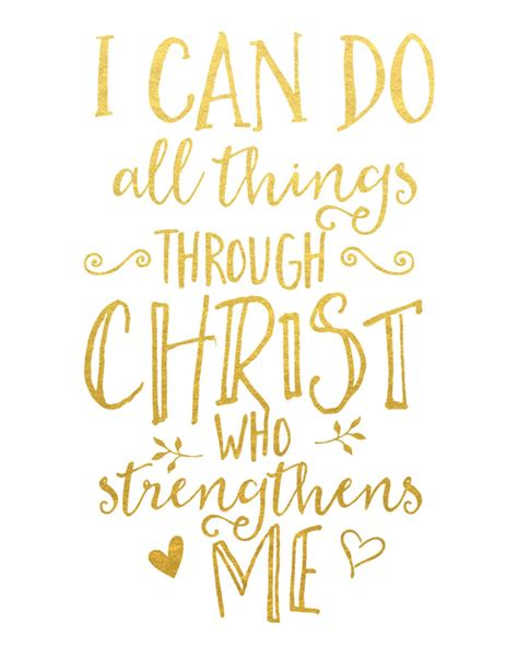 printable religious quotes i can do all things through christ who strengthens me