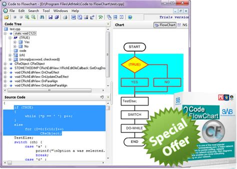 code to flowchart generator special offer get 80 from the regular price of code