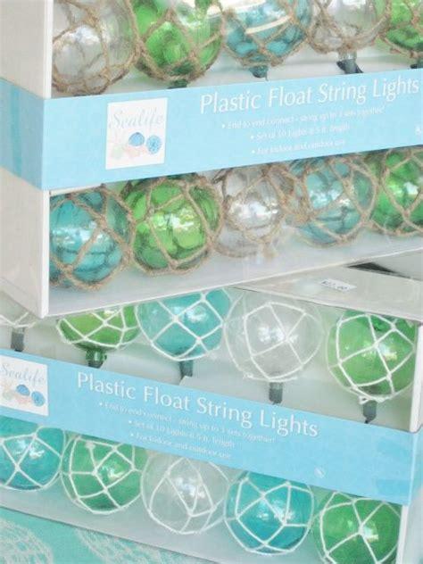 Nautical Float Lights Beach Love Pinterest Christmas Glass Float String Lights