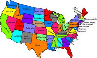 all states in usa united states map clipart best