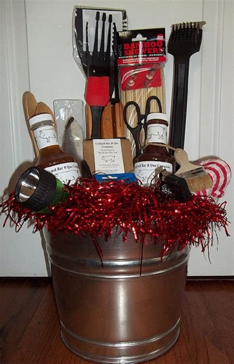 Backyard Bbq Gift Basket Ideas Bbq Gift Basket From The Bbq By