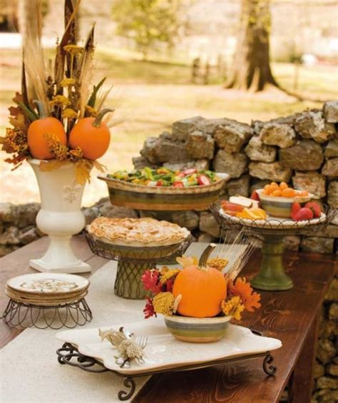 fall decorations for tables 30 creative fall table decorations and centerpieces with