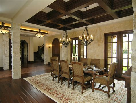 Mediterranean Dining Room by Dining Room