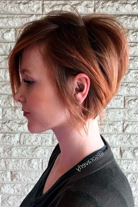pixie stacked haircuts best 25 stacked bob short ideas on pinterest short bob