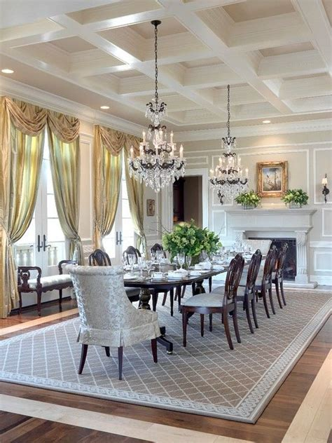 dining room designs with simple and elegant chandilers 17 best ideas about elegant dining room on pinterest