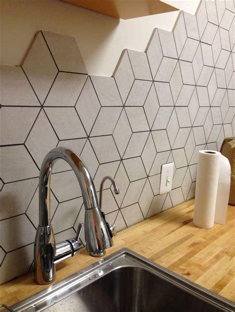 Carreau De Ciment Salle De Bain 709 by Backsplash Rhombus Shape Tile Tile Mercury