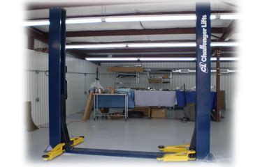 Low Ceiling Lift by Challenger Clfp9 9k 2 Post Lift Free Shipping