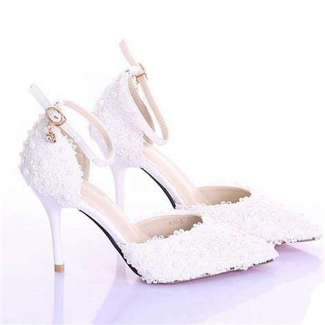 ivory dress shoes cheap 3 inches high heel ivory color bridal dress shoes