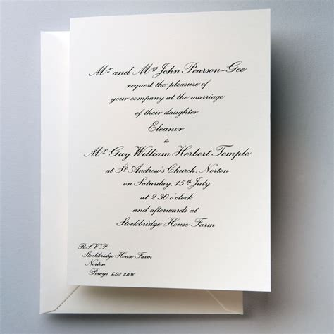 Traditional Wedding Invitation Cards by Wilberforce Traditional Wedding Invitations Shop