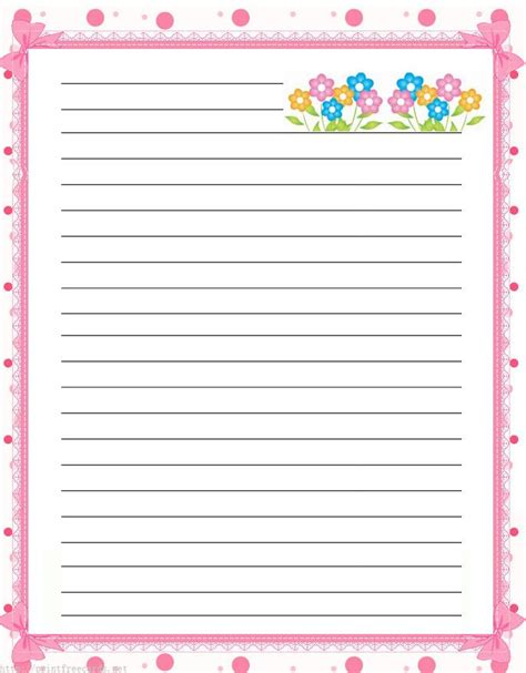printable lined paper cute 15 best cute lined paper images on pinterest article