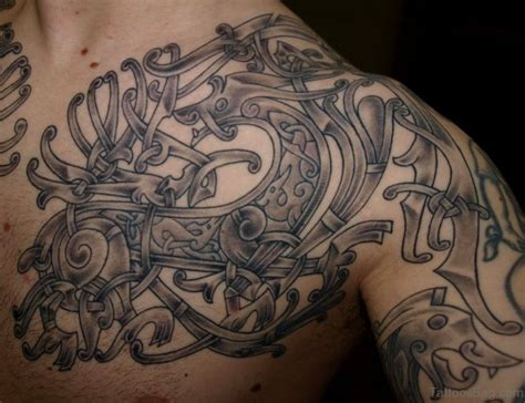 tribal viking tattoos 62 stylish nordic shoulder tattoos