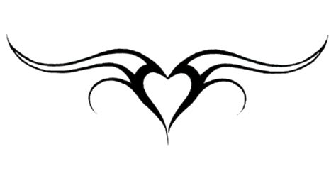easy heart tattoo designs tattoos png transparent images png all