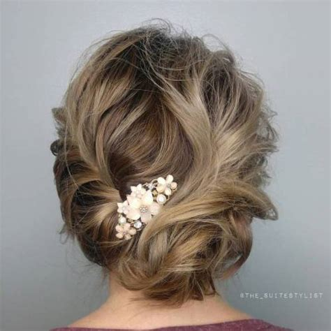 messy updos for fine hair top 20 wedding hairstyles for medium hair