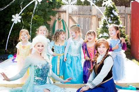 frozen themed party entertainment winter is coming so its only fitting to invite our