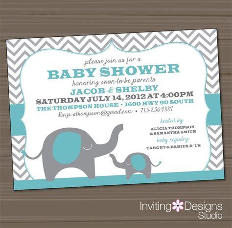 elephant baby shower invitations etsy 141 best images about elephant baby shower on