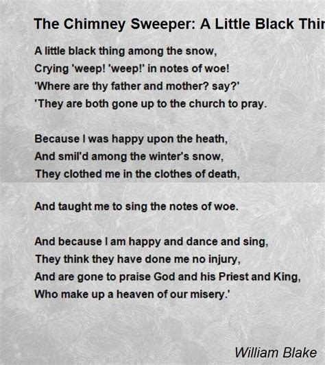 Chimney Sweep Essay by Essays On The Chimney Sweeper