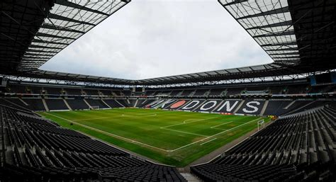 libro football grounds guide 2017 18 mk dons tickets on sale news gillingham