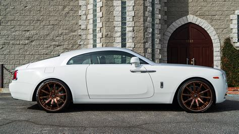 rose gold rolls royce dub magazine rolls royce on rose gold forgiatos