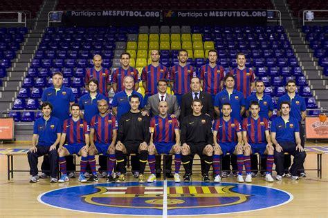 barcelona official official website of the fc barcelona futsal team