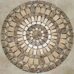 36 inch sj8 mosaic marble and travertine floor medallion floor tile art ebay
