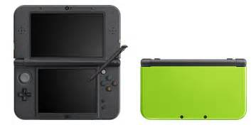 new nintendo 3ds xl colors nintendo announces lime x black and pink x white new