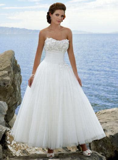 morden floral ball gown tea length destination wedding