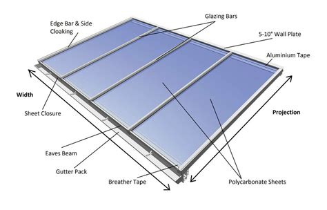 glass lean to roof kit lean to conservatory roof kit diy 2 5m projection self