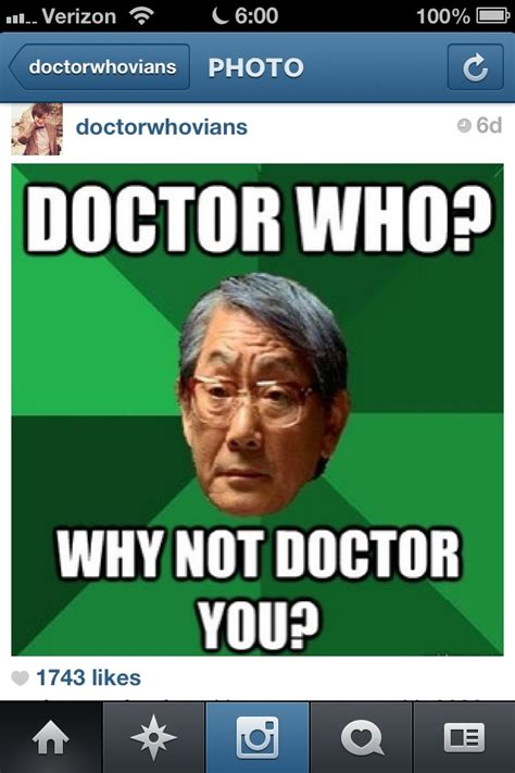 Asain Meme - asian meme doctor who pinterest high expectations