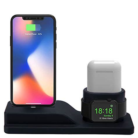charging stand  iphone airpods apple