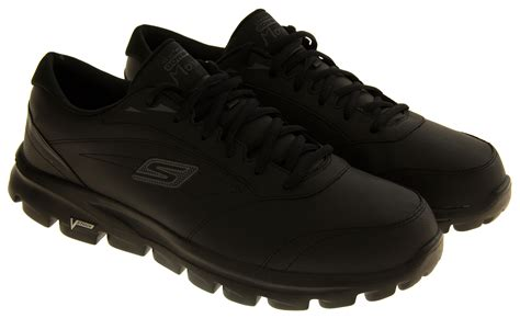 Skechers Size 6 by Mens Skechers Trainers Go Walk Move Sports Trainer Black
