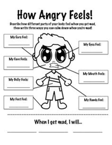 Emotional Detox Cause You To Get Mad At Friends by Free Printable Self Esteem Worksheets Motor