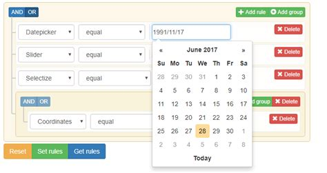 jquery mobile builder how to display the selected date value in datepicker on