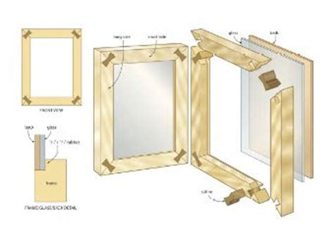pallet picture frame wood plans home decor wood plans
