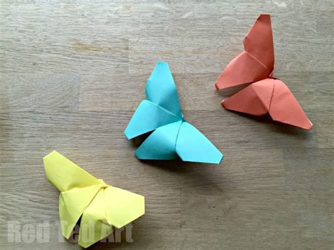 Simple Paper Folding Crafts - 35 butterfly crafts ted s
