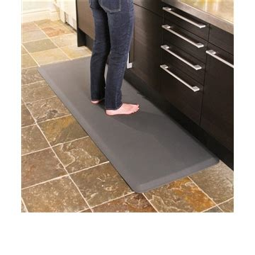 Distinctive Home Anti Fatigue Kitchen Mat - wellnessmats anti fatigue kitchen floor mat grey 6x2