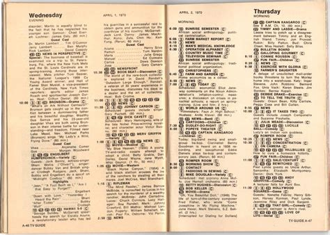 day tv guide ep 26 tv guide 1969