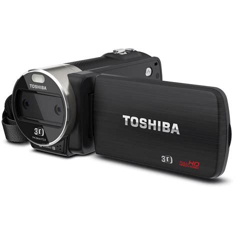 Toshiba Cameleo Comcoder toshiba camileo z100 hd 3d camcorder pa5012u 1c0k b h